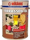 Wilckens Terrassenöl Lasur Terrassenholz Douglasie Bangkirai Teak, Farbe:Bangkirai