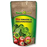 HACK Bio Tomatendünger und Kräuterdünger 700 g Gartendünger Gemüsedünger