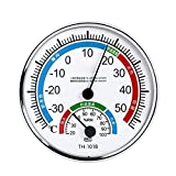 Pisamhid Innenthermometer Hygrometer Werkzeug Außenmessgerät