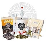 Einfach Brauen Bierbrauset Plus - Weizen Bier - Selbst Bier brauen - Bier brauen Starterpaket - originelles Geschenk - Mann Geschenk - Geschenk für Frau