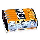 5x Swirl Fixierband Müllbeutel 10L (15 stk./Rolle)
