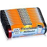 10x Swirl Fixierband Müllbeutel 60L (10 stk/Rolle)