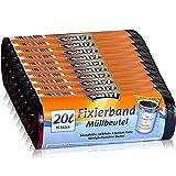 10x Swirl Fixierband Müllbeutel 20L (15 stk/Rolle)