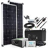 Offgridtec® Autark M-Master 200W Solar - 1000W AC Leistung 122Ah AGM Akku