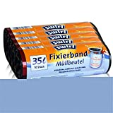 5x Swirl Fixierband Müllbeutel 35L (10 stk./Rolle)