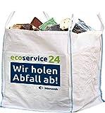 Ecoservice24 Big Bag für 1.500kg Abfall inkl. Abholung und Entsorgung