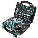 FDGSD Werkzeugkasten-Set Haushalts-Wartungswerkzeug-Set 28-teiliges Haushalts-Handwerkswerkzeug-Werkzeugkasten-Set