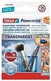 tesa Powerstrips Deco TRANSPARENT, für max. 1kg, Packung mit 8 Strips