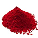 Eisenoxid Pulver - Ziegelrot 5Kg - Oxidfarbe Trockenfarbe zementecht Pigmentpulver für Beton Estrich Zement Putz Gips Epoxidharz Wand Boden