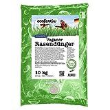 Ecofertis organischer Rasendünger Herbst - Bio Rasendünger mit Langzeitwirkung für maximale Winterhärte, Herbstrasendünger unbedenklich für Haustiere, Rasendünger bio, 10kg