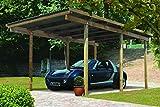 Unbekannt Karibu Einzelcarport ECO 1 Variante A kdi