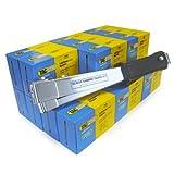 Tacwise 1185 A11 Hammertacker + Box (5.000 Stück) Edelstahlklammern 140/10mm