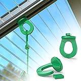 RASENWERK® 50 Innovative Gewächshausclips mit Einkerbung – Stabile Pflanzenhalter - Kompatibel mit den Marken Zelsius, Palram, Deuba uva. - Made in Germany
