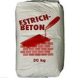 30Kg Estrichbeton 0,33€/Kg Fertigbeton Beton Trockenmörtel, kein Ruckzuck-Beton