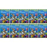 10x Eierfarben mit je 5 Farben Eier Ostereierfarben Heitmann Iris Eierfärben bunt