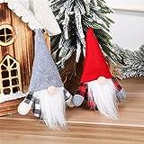 Schiffe aus Deutschland, TriLance Weihnachten Puppe, Weihnachten Deko, Handgemachte Wichtel Figuren Weihnachten Deko, Mini Santa Dolls, Süße Plüschtier, Weihnachtswichtel