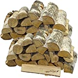 mumba 30 KG Kaminholz * BIRKE * Feuerholz Restfeuchte ca. 20% getrocknet