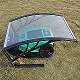YRJJ Carport Mähroboter Rasenmäher Mähroboter Garage,103cm x 77 cm x 45cm,aus Polycarbonat, Hagel und UV-Strahlen, Schutz vor Regen