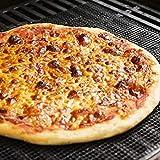 FTVOGUE BBQ Grillmatten, BBQ Grillmatte Antihaft, Backmatte Leicht zu reinigende Grillmatte 3er Set, für Holzkohle Elektrogrill(Braun 30 * 40cm)