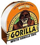 Gorilla Klebeband, weiß, 48 mm x 27 m, Produktreihe Gorilla – Gafferband, Bandfarbe weiß, Bandlänge – Imperial 27 m, Bandlänge – metrisch 27 m, Bandtyp Gaffer/Duct/Tuch, Bandbreite – Imperia