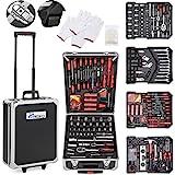 TRESKO® Werkzeugkoffer 949 teilig   Werkzeugkasten   Werkzeugkiste   Werkzeugtasche   Werkzeug Set   Werkzeug-Trolley   Chrom-Vanadium Stahl