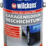 Wilckens Garagenboden Beschichtung Silbergrau RAL 7001