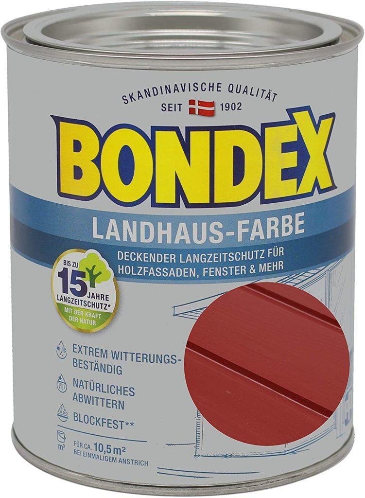 Bondex Schwedenrot Wetterschutzfarbe