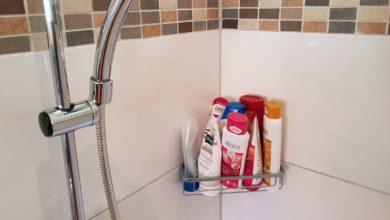 Photo of Duschablage ohne bohren – kleben oder zum hängen