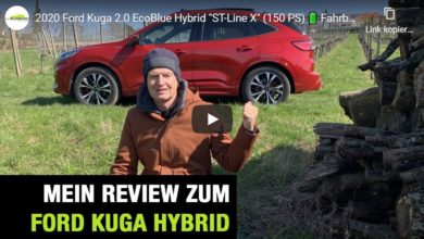 "Photo of SUV: Ford Kuga 2.0 EcoBlue Hybrid ""ST-Line X"" – Fahrbericht mit FULL Review"