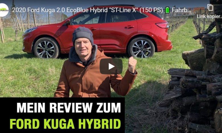 """Photo of SUV: Ford Kuga 2.0 EcoBlue Hybrid """"ST-Line X"""" – Fahrbericht mit FULL Review"""