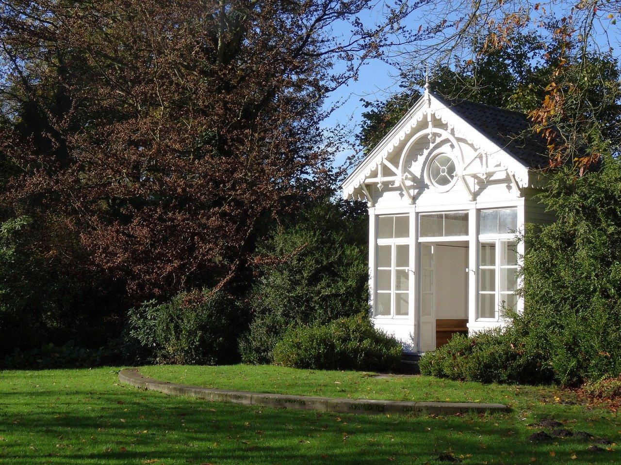 Das Gartenhaus – ein kleines und überaus nützliches Paradies schaffen