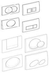 geberit unterputz sp lkasten ersatzteile bestell bersicht. Black Bedroom Furniture Sets. Home Design Ideas