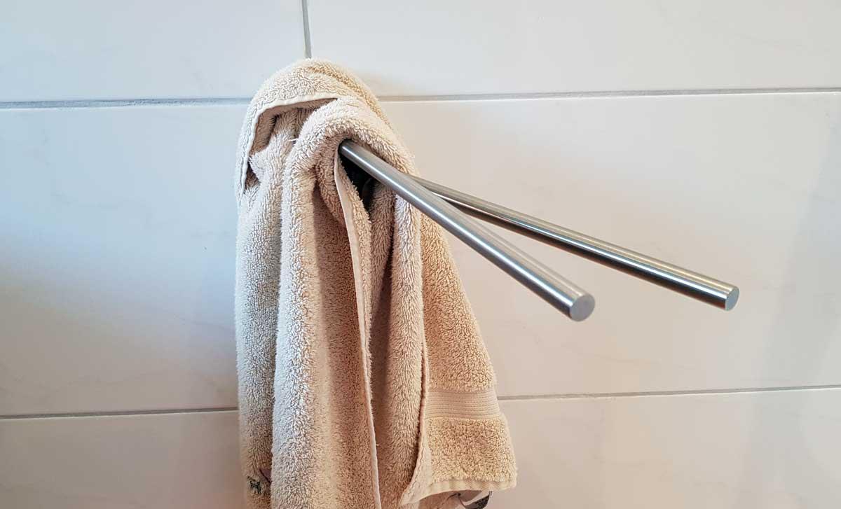Handtuchhalter ohne bohren befestigen