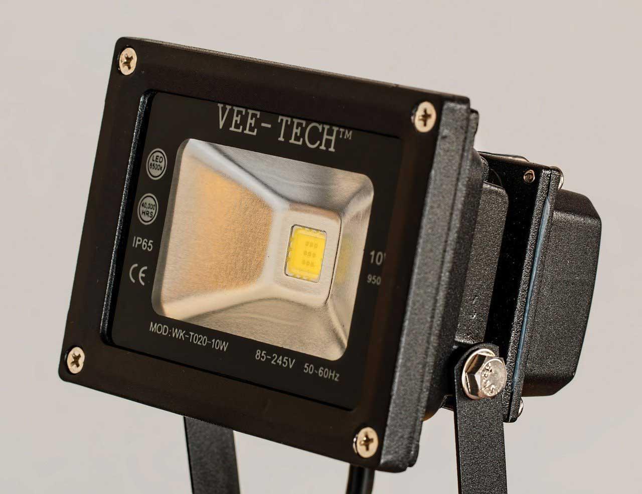 Helles Licht mit modernen LED-Reflektorlampen
