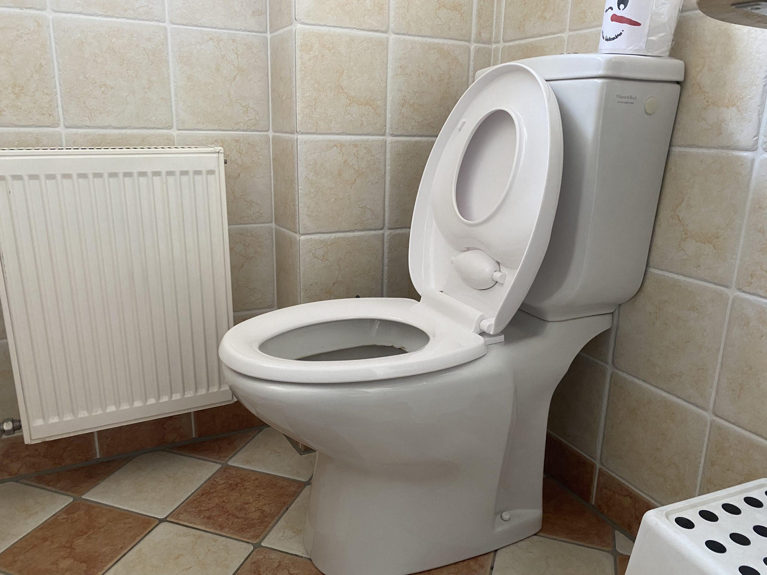 WC Sitz mit Kindersitz
