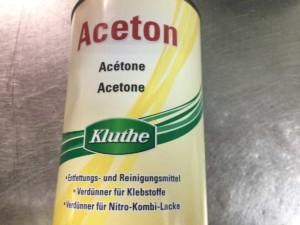 Häufig Aceton richtig anwenden - Anleitung und benötigte PSA KV47