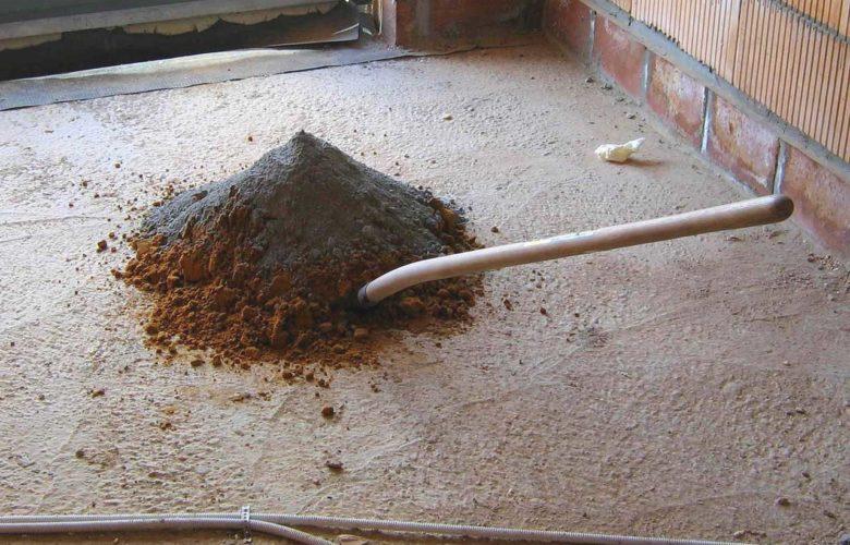 Ausgleichsmasse für Holzboden