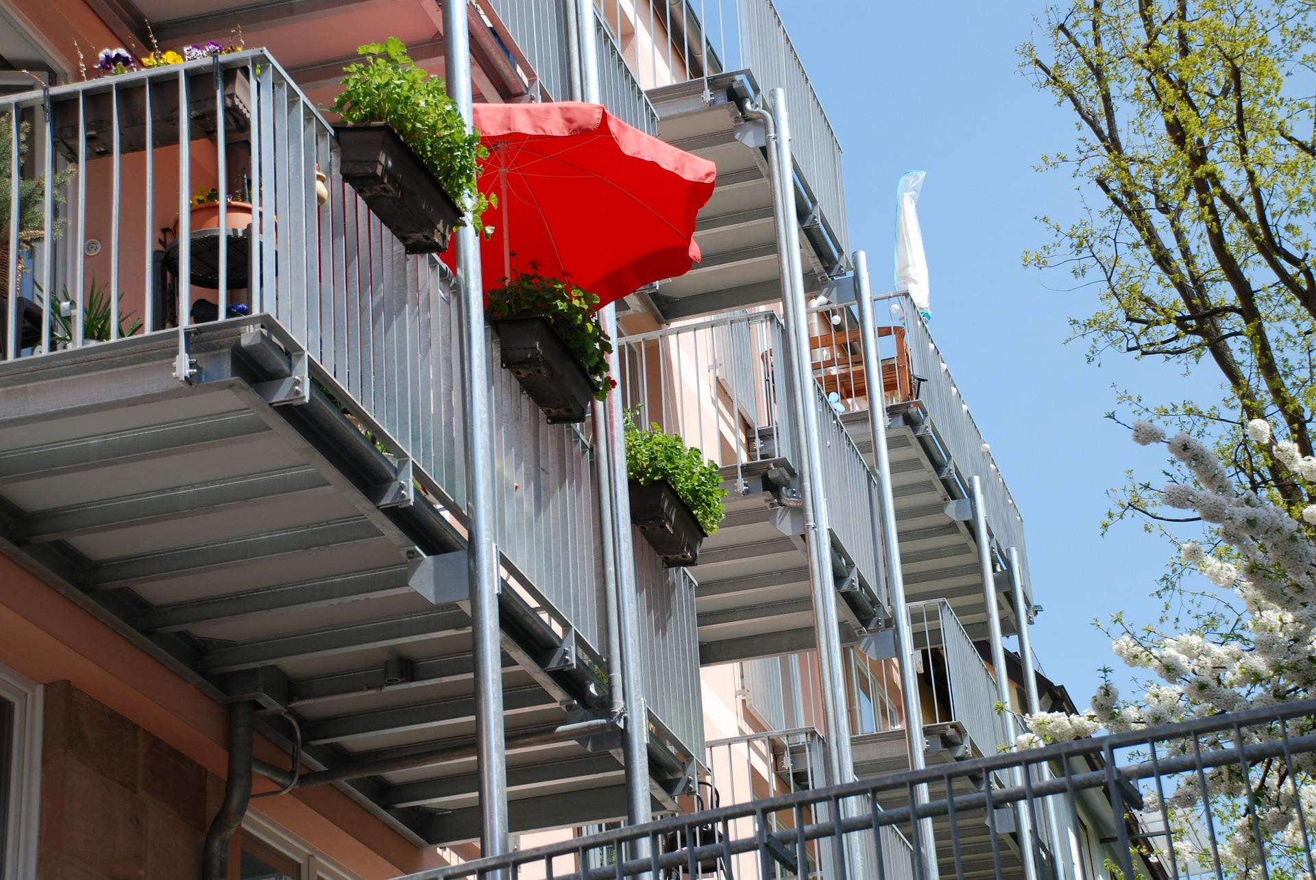 Sichtschutz Balkon Schutz vor Blicken