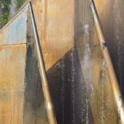 Was sind Cortenstahl-Brunnen