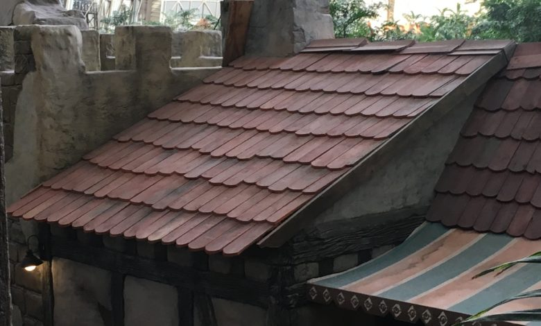 Bild von Dachziegel