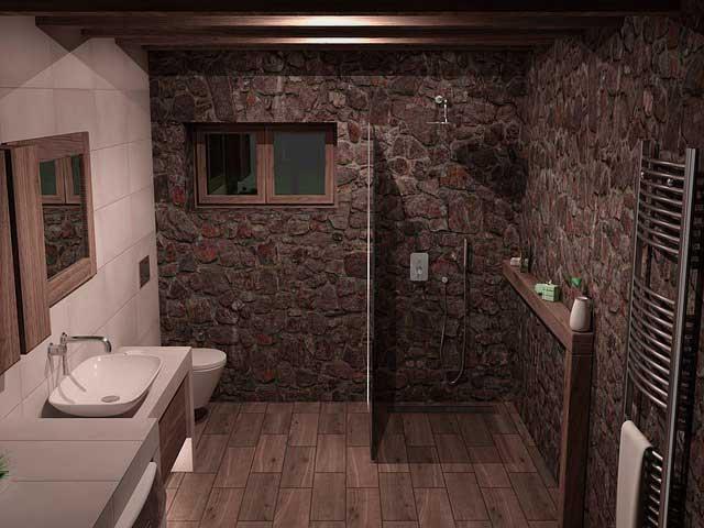 Designheizkörper - Badezimmer mit Heizung