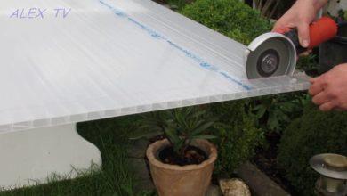 Photo of Wie kann ich Doppelstegplatten schneiden