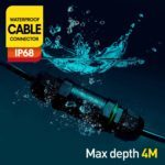Kabelverbinder Wasserdicht IP68