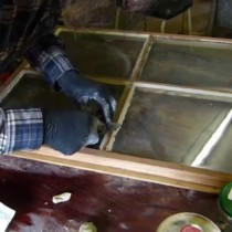 Fensterkitt erneuern und ausbessern