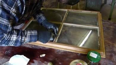 Photo of Fensterkitt erneuern und ausbessern