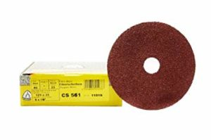 Fiberscheibe Farbe entfernen Grobschliff Korn 36