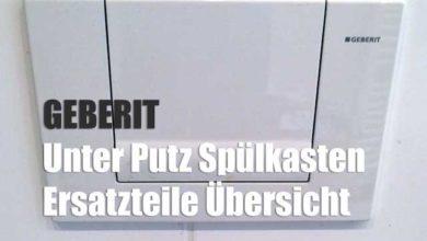 Bild von Geberit Unterputzspülkasten – Ersatzteile für die Reparatur