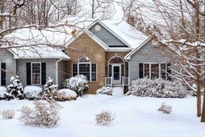 Maßnahmen für das Eigenheim Winter