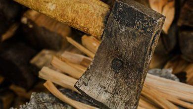 Holzspalter statt Holzaxt