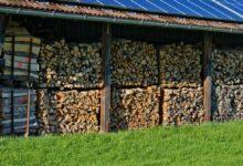 Bild von Holzunterstand selber bauen